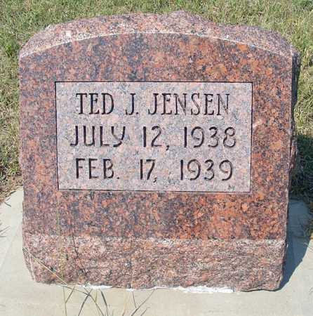 JENSEN, TED J. - Garden County, Nebraska   TED J. JENSEN - Nebraska Gravestone Photos