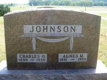 JOHNSON, CHARLES O. - Garden County, Nebraska | CHARLES O. JOHNSON - Nebraska Gravestone Photos