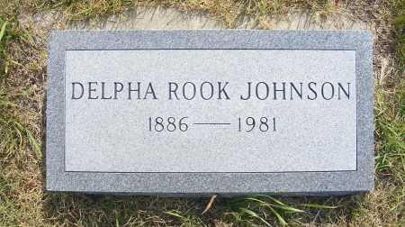 JOHNSON, DELPHA ROOK - Garden County, Nebraska   DELPHA ROOK JOHNSON - Nebraska Gravestone Photos