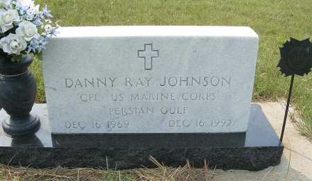 JOHNSON, DANNY  RAY - Garden County, Nebraska   DANNY  RAY JOHNSON - Nebraska Gravestone Photos