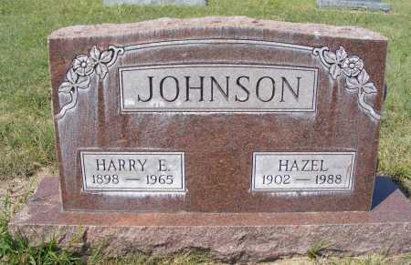 JOHNSON, HAZEL - Garden County, Nebraska   HAZEL JOHNSON - Nebraska Gravestone Photos
