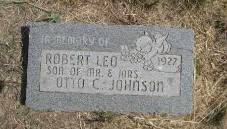 JOHNSON, ROBERT LEO - Garden County, Nebraska | ROBERT LEO JOHNSON - Nebraska Gravestone Photos