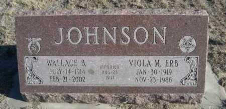 JOHNSON, VIOLA M. - Garden County, Nebraska | VIOLA M. JOHNSON - Nebraska Gravestone Photos