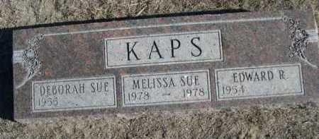 KAPS, MELISSA SUE - Garden County, Nebraska | MELISSA SUE KAPS - Nebraska Gravestone Photos