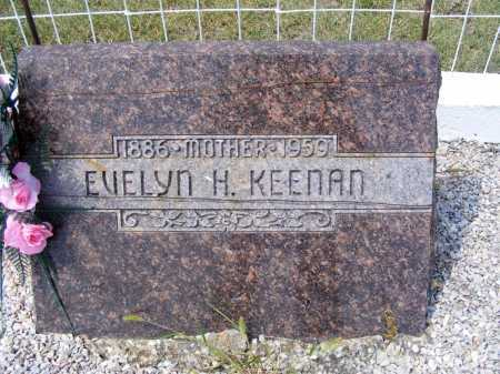 KEENAN, EVELYN H. - Garden County, Nebraska | EVELYN H. KEENAN - Nebraska Gravestone Photos