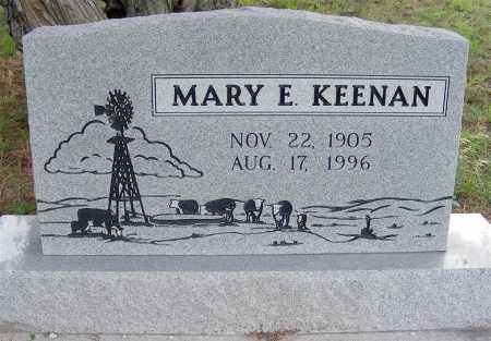 KEENAN, MARY E. - Garden County, Nebraska | MARY E. KEENAN - Nebraska Gravestone Photos
