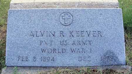 KEEVER, ALVIN R. - Garden County, Nebraska | ALVIN R. KEEVER - Nebraska Gravestone Photos