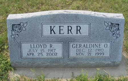 KERR, LLOYD R. - Garden County, Nebraska | LLOYD R. KERR - Nebraska Gravestone Photos