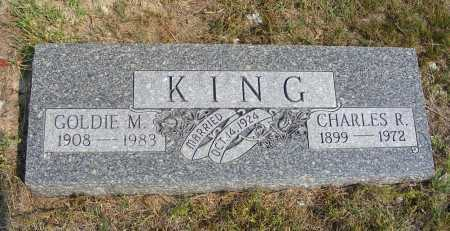 KING, GOLDIE M. - Garden County, Nebraska   GOLDIE M. KING - Nebraska Gravestone Photos