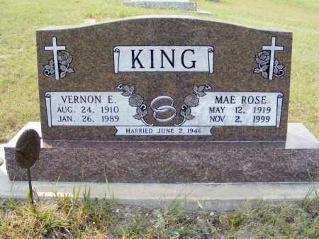 KING, MAE ROSE - Garden County, Nebraska | MAE ROSE KING - Nebraska Gravestone Photos