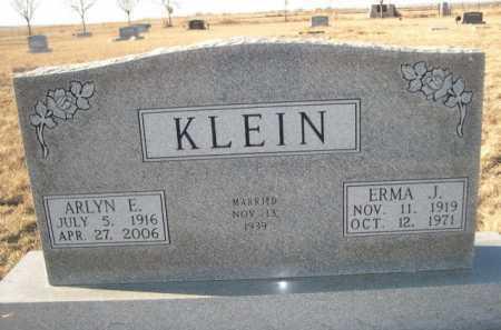 KLEIN, ERMA J. - Garden County, Nebraska | ERMA J. KLEIN - Nebraska Gravestone Photos