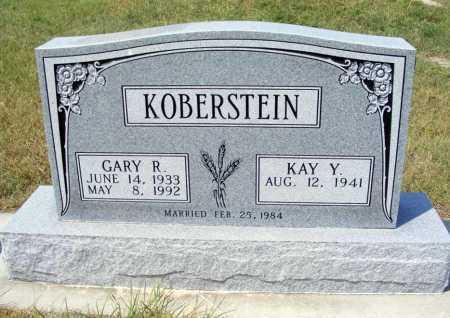 KOBERSTEIN, GARY R. - Garden County, Nebraska | GARY R. KOBERSTEIN - Nebraska Gravestone Photos