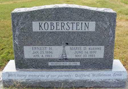KOBERSTEIN, ERNEST H. - Garden County, Nebraska   ERNEST H. KOBERSTEIN - Nebraska Gravestone Photos