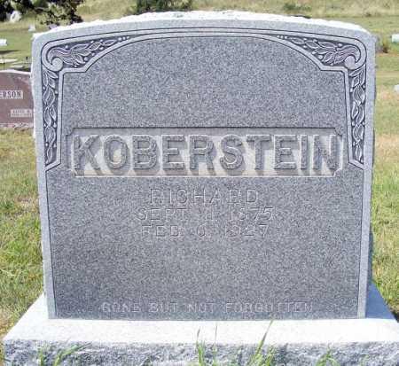 KOBERSTEIN, RICHARD - Garden County, Nebraska | RICHARD KOBERSTEIN - Nebraska Gravestone Photos
