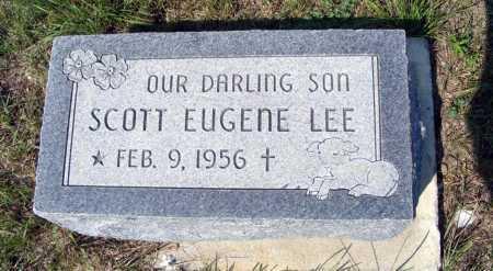 LEE, SCOTT EUGENE - Garden County, Nebraska   SCOTT EUGENE LEE - Nebraska Gravestone Photos