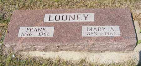 LOONEY, MARY A. - Garden County, Nebraska | MARY A. LOONEY - Nebraska Gravestone Photos