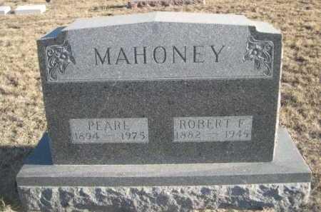MAHONEY, PEARL - Garden County, Nebraska | PEARL MAHONEY - Nebraska Gravestone Photos