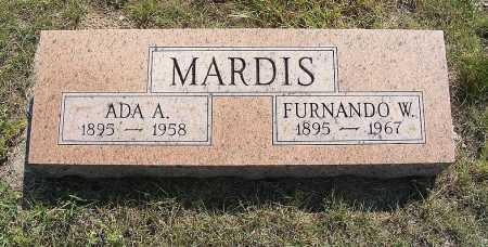 MARDIS, FURNANDO W. - Garden County, Nebraska   FURNANDO W. MARDIS - Nebraska Gravestone Photos