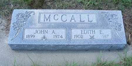 MCCALL, JOHN A. - Garden County, Nebraska   JOHN A. MCCALL - Nebraska Gravestone Photos