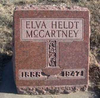 MCCARTNEY, ELVA - Garden County, Nebraska | ELVA MCCARTNEY - Nebraska Gravestone Photos