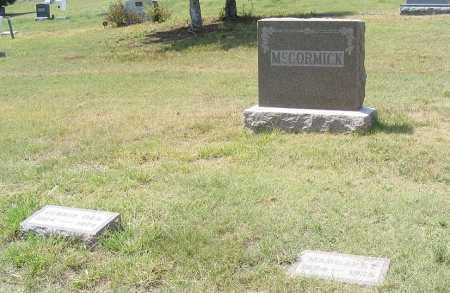 MCCORMICK, FAMILY - Garden County, Nebraska   FAMILY MCCORMICK - Nebraska Gravestone Photos