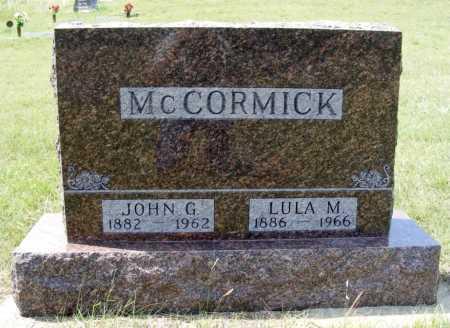 MCCORMICK, LULA M. - Garden County, Nebraska   LULA M. MCCORMICK - Nebraska Gravestone Photos