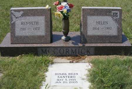 MCCORMICK, HELEN - Garden County, Nebraska | HELEN MCCORMICK - Nebraska Gravestone Photos