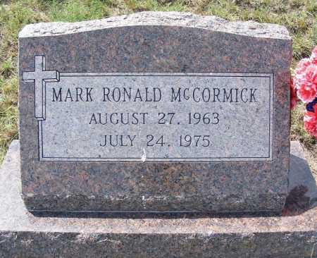 MCCORMICK, MARK RONALD - Garden County, Nebraska | MARK RONALD MCCORMICK - Nebraska Gravestone Photos