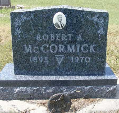 MCCORMICK, ROBERT A. - Garden County, Nebraska | ROBERT A. MCCORMICK - Nebraska Gravestone Photos