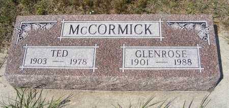MCCORMICK, TED - Garden County, Nebraska   TED MCCORMICK - Nebraska Gravestone Photos