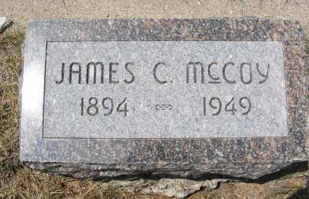 MCCOY, JAMES C. - Garden County, Nebraska   JAMES C. MCCOY - Nebraska Gravestone Photos