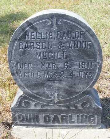 MCGILL, NELLIE - Garden County, Nebraska   NELLIE MCGILL - Nebraska Gravestone Photos