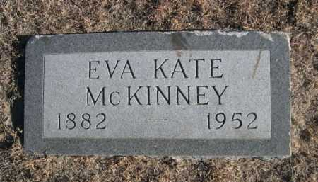 MCKINNEY, EVA KATE - Garden County, Nebraska | EVA KATE MCKINNEY - Nebraska Gravestone Photos