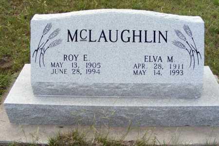 MCLAUGHLIN, ELVA M. - Garden County, Nebraska | ELVA M. MCLAUGHLIN - Nebraska Gravestone Photos