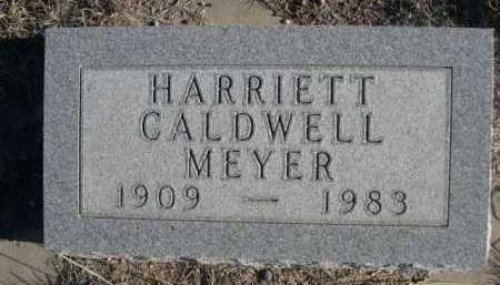 MEYER, HARRIETT - Garden County, Nebraska   HARRIETT MEYER - Nebraska Gravestone Photos