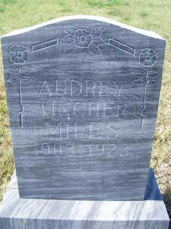 MILES, AUDREY TINCHER - Garden County, Nebraska | AUDREY TINCHER MILES - Nebraska Gravestone Photos