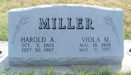 MILLER, VIOLA M. - Garden County, Nebraska   VIOLA M. MILLER - Nebraska Gravestone Photos