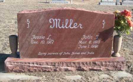 MILLER, JESSIE L. - Garden County, Nebraska | JESSIE L. MILLER - Nebraska Gravestone Photos