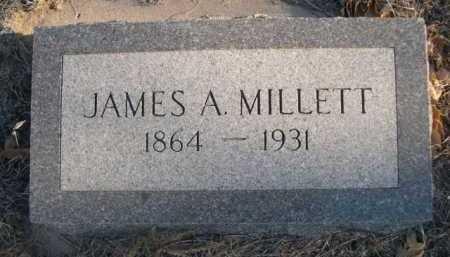 MILLETT, JAMES A. - Garden County, Nebraska | JAMES A. MILLETT - Nebraska Gravestone Photos