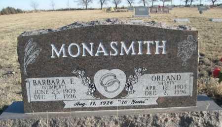 STIMPERT MONASMITH, BARBARA E. - Garden County, Nebraska   BARBARA E. STIMPERT MONASMITH - Nebraska Gravestone Photos