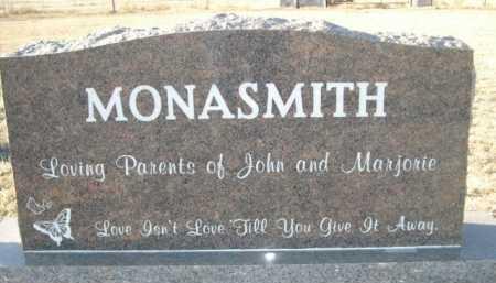 MONASMITH, ORLAND - Garden County, Nebraska | ORLAND MONASMITH - Nebraska Gravestone Photos