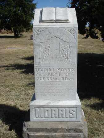 MORRIS, LOVINA I. - Garden County, Nebraska | LOVINA I. MORRIS - Nebraska Gravestone Photos