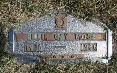 MOSS, BILLIE GAY - Garden County, Nebraska   BILLIE GAY MOSS - Nebraska Gravestone Photos