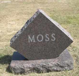 MOSS, FAMILY - Garden County, Nebraska | FAMILY MOSS - Nebraska Gravestone Photos