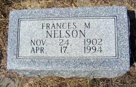 NELSON, FRANCES M. - Garden County, Nebraska   FRANCES M. NELSON - Nebraska Gravestone Photos