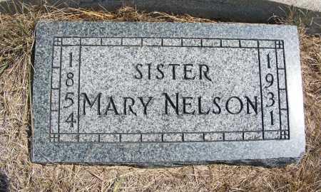 NELSON, MARY - Garden County, Nebraska | MARY NELSON - Nebraska Gravestone Photos