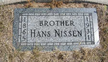 NISSEN, HANS - Garden County, Nebraska | HANS NISSEN - Nebraska Gravestone Photos