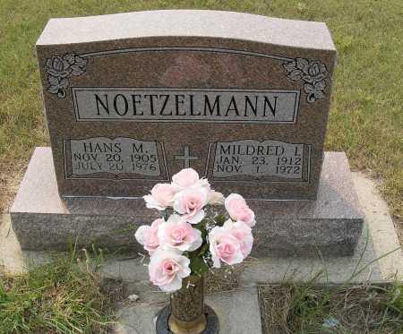 NOETZELMANN, MILDRED I. - Garden County, Nebraska   MILDRED I. NOETZELMANN - Nebraska Gravestone Photos