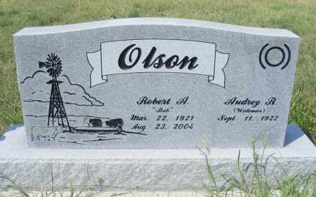 OLSON, ROBERT A. - Garden County, Nebraska | ROBERT A. OLSON - Nebraska Gravestone Photos