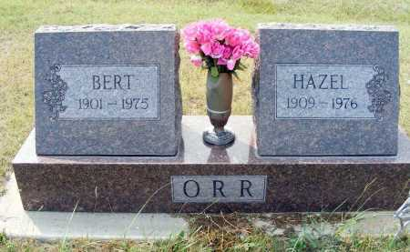 ORR, HAZEL - Garden County, Nebraska | HAZEL ORR - Nebraska Gravestone Photos